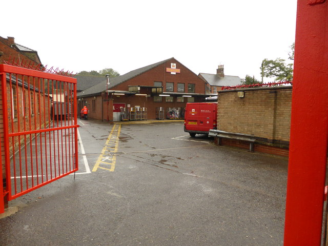 The sorting office