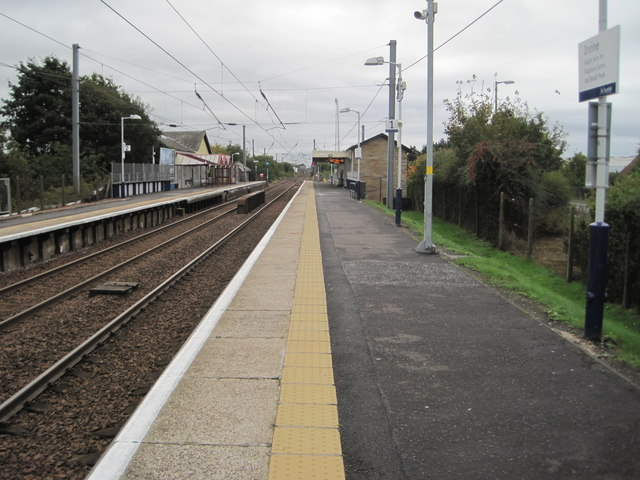 Irvine railway station, Ayrshire