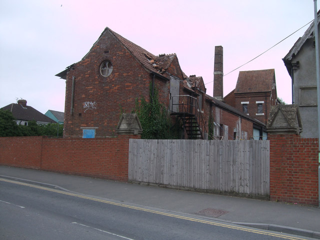 Former Beaufort Brewery building, Station Road, Royal Wootton Bassett