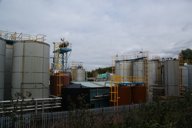 Chemical works in Latchford