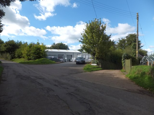 Light industrial unit, Witheridge