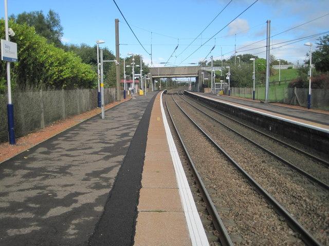 Dalry railway station, Ayrshire