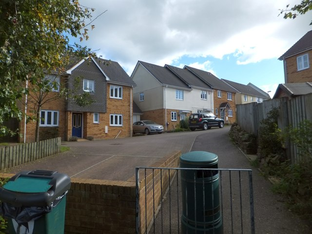 Modern housing estate, Witheridge