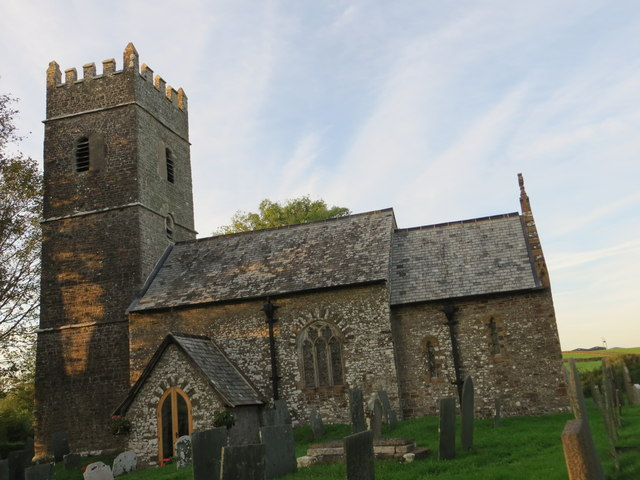 The church of St Thomas a Becket at Newton Tracey