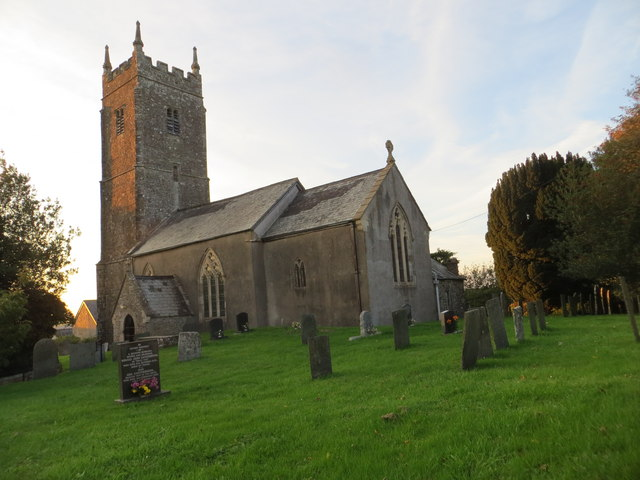 The church of St Mary Magdalene at Huntshaw