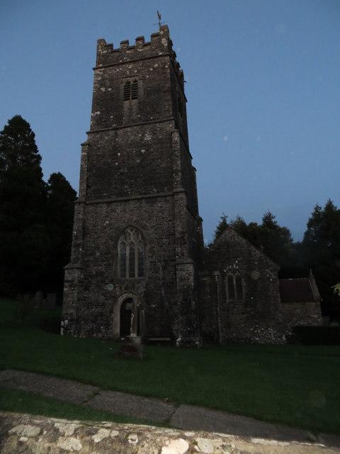 The church of St Swithuns at Littleham