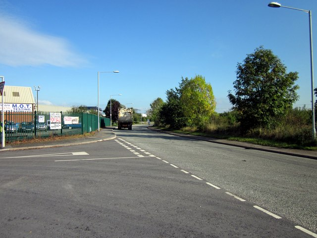 Junction of Dunster Road and Redwither Road