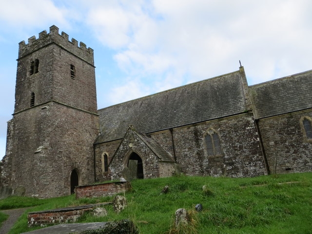The church of St Michael at East Buckland