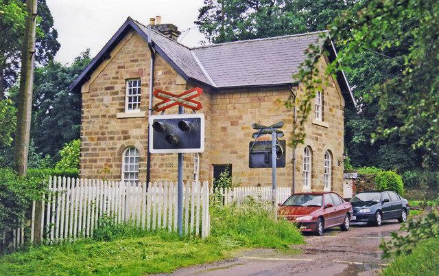 Former Idridgehay station, 1998