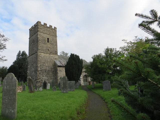The church of St John the Baptist at Charles