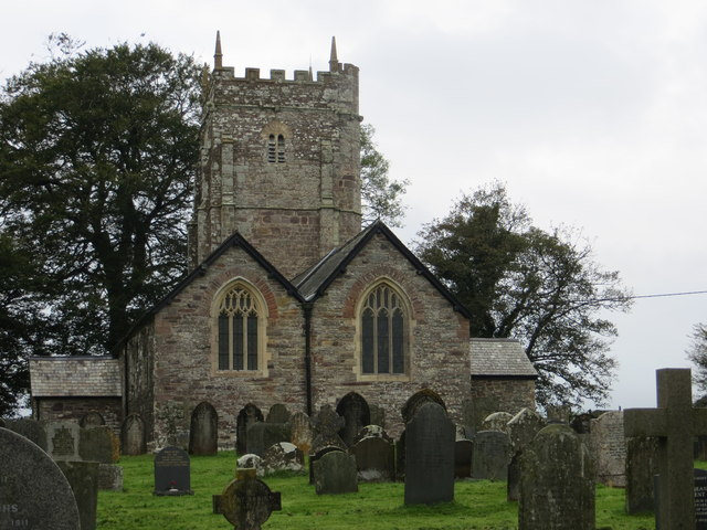 All Saints Church at High Bray