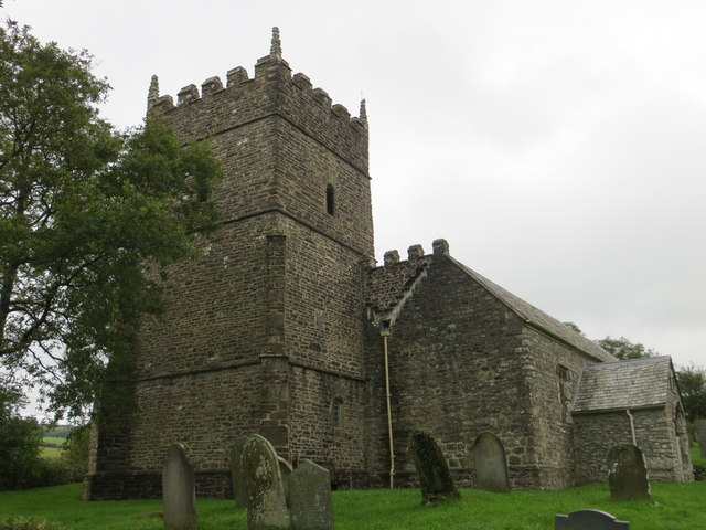 The church of St Petrock at Churchtown