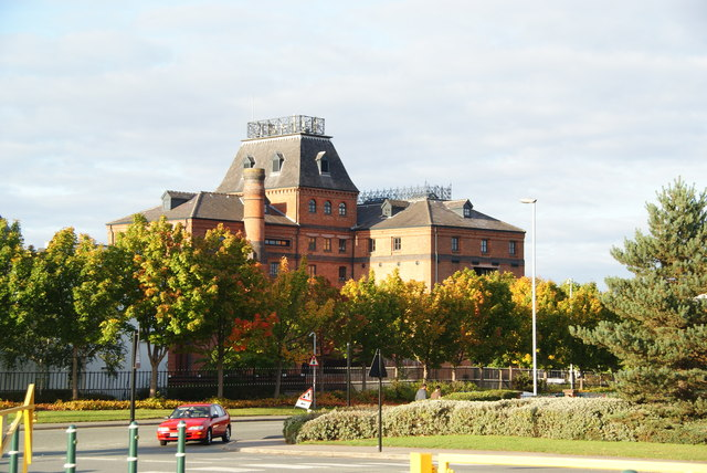 The former Greenall Whitley brewery at Wilderspool
