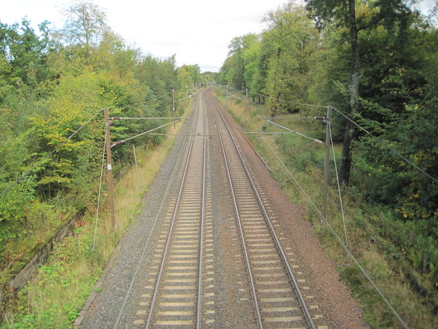 Railway at Lochwinnoch