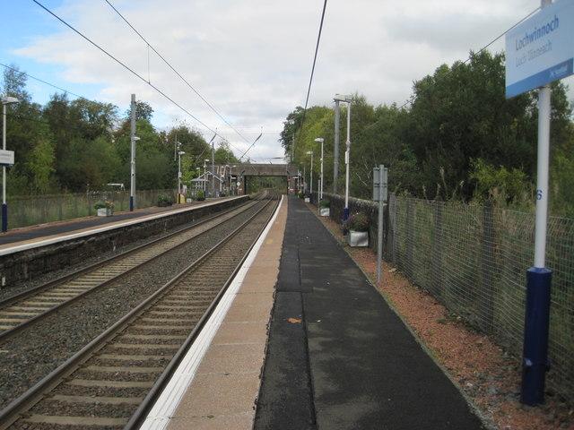 Lochwinnoch railway station, Renfrewshire