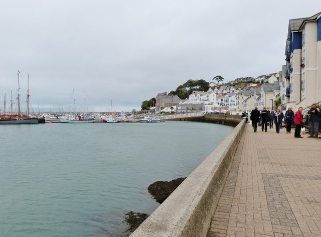 The outer harbour, Brixham
