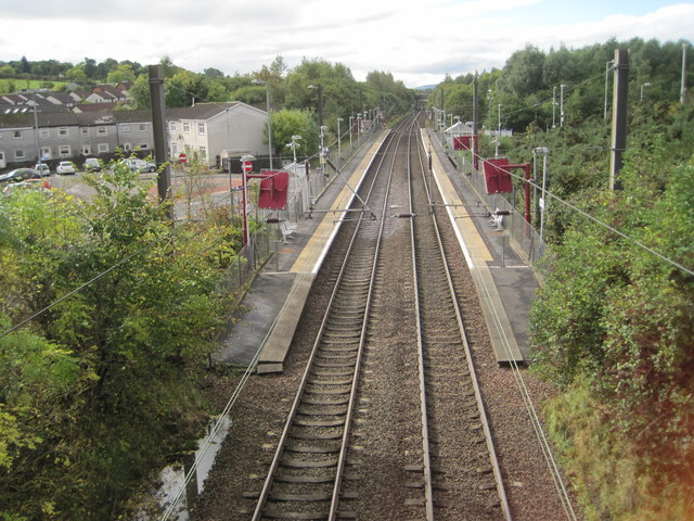 Howwood railway station, Renfrewshire