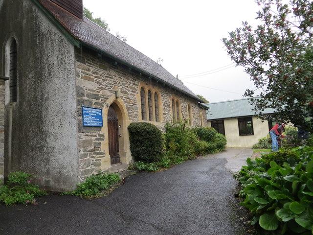 The church of St Bartholomew at Barbrook
