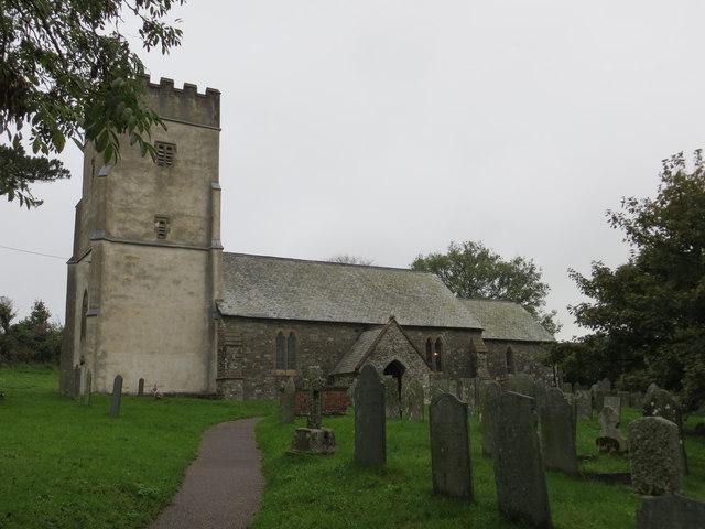 Holy Trinity Church at Challacombe
