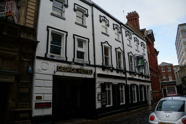 The George on The Land of Green Ginger, Hull