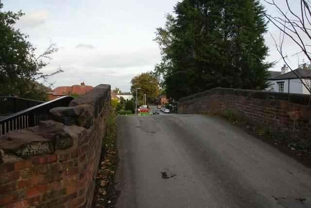 Church Lane crossing the Bridgewater Canal