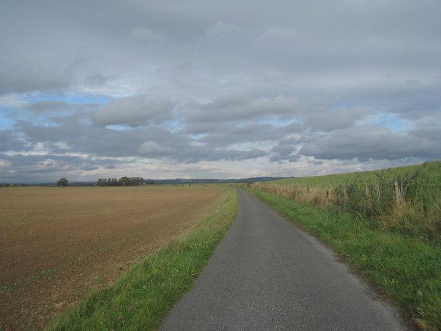 The road to Faxfleet Grange
