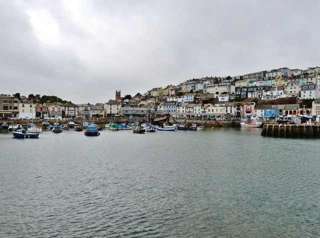 The inner harbour, Brixham