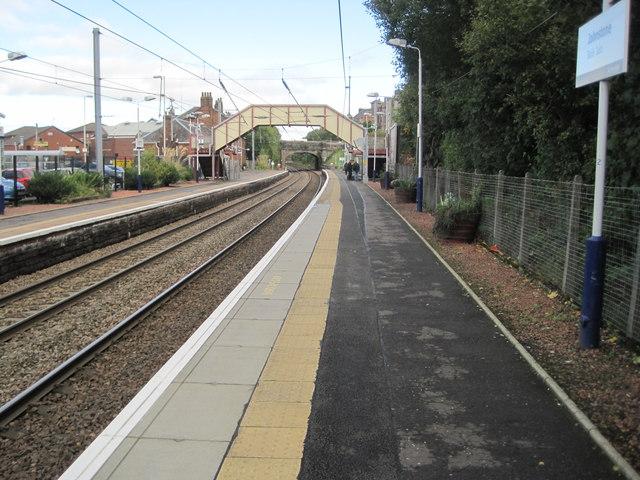 Johnstone railway station, Renfrewshire