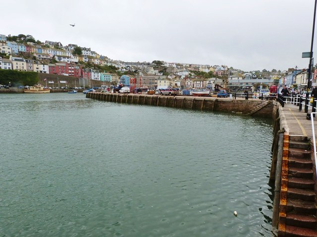 Jetty in the inner harbour, Brixham