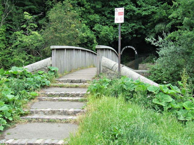Footbridge over the Water of Leith