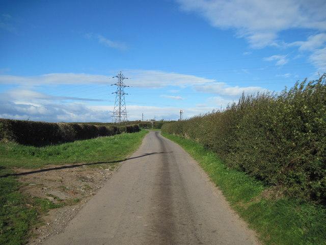 Kilton  Lane  toward  Brotton
