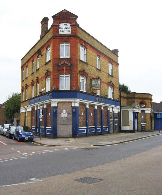 The Railway Tavern (1), 65 White Hart Lane, Tottenham, London N17