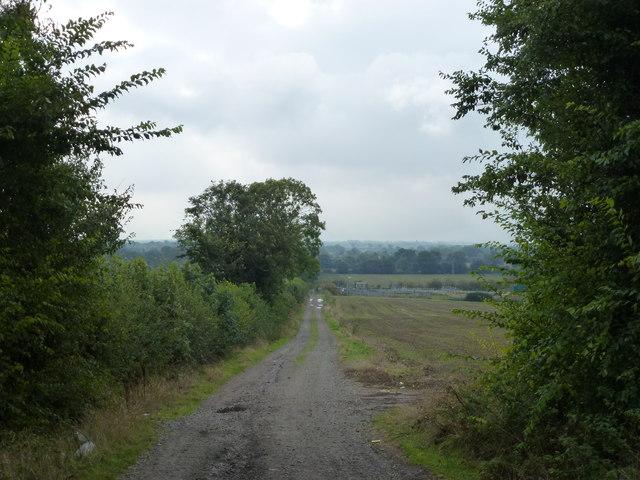 Lane from RAF Wyton to Wyton