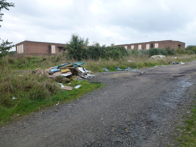 Former photographic factory at RAF Wyton