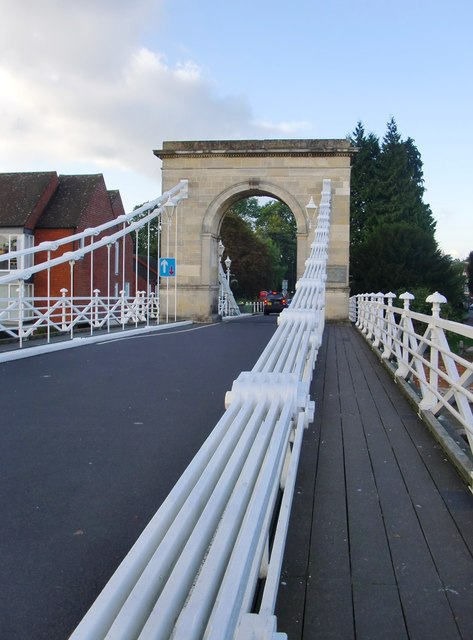The Suspension Bridge, Marlow