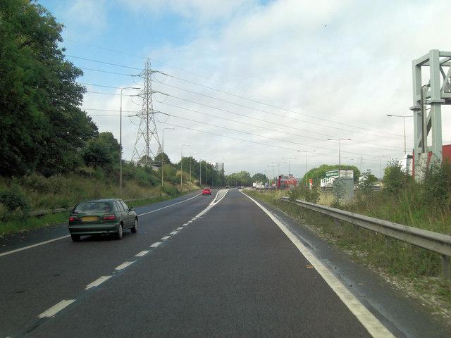 M42 slip-road joins M6