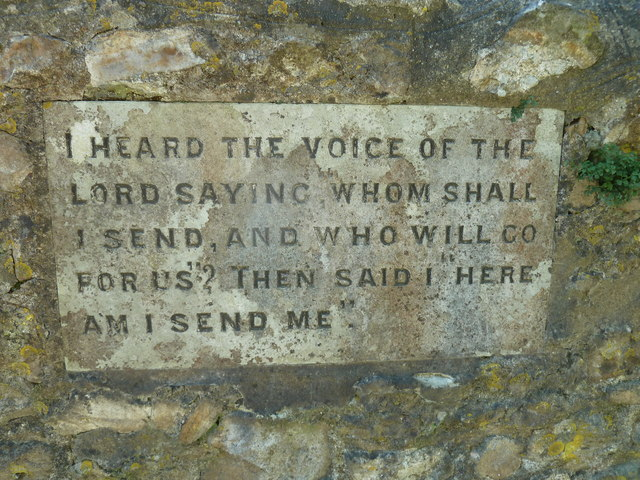 St Mary, Marshwood: inscription