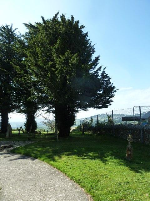 St Mary, Marshwood: churchyard (a)