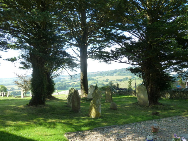St Mary, Marshwood: churchyard (b)