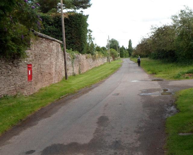 Lane from Hinton to Fairfield