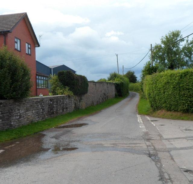 Lane to Dorstone from Hinton