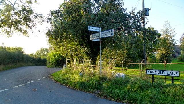 Yarnold Lane junction