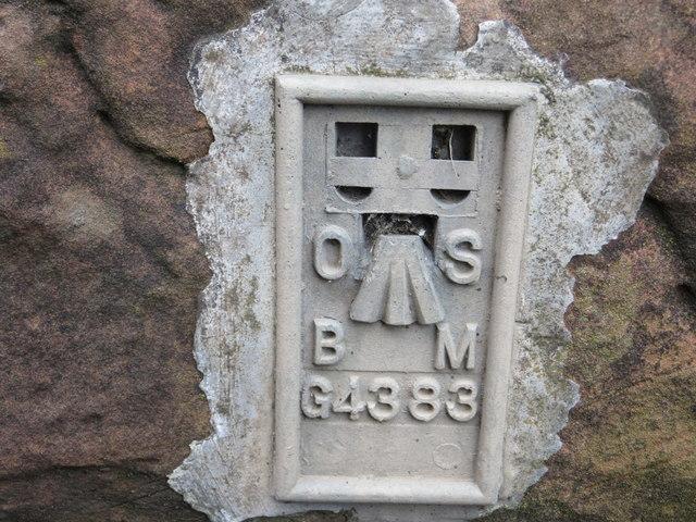 Ordnance Survey Flush Bracket G4383