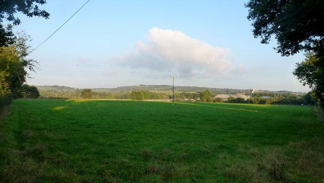 View over Wildmoor Mill Farm