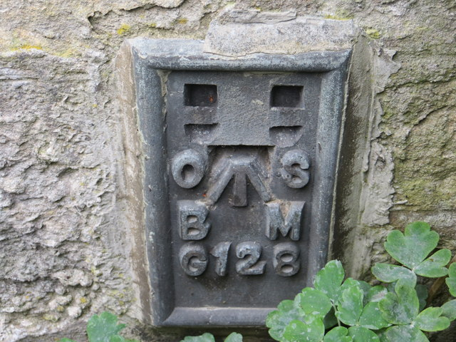 Ordnance Survey Flush Bracket G128