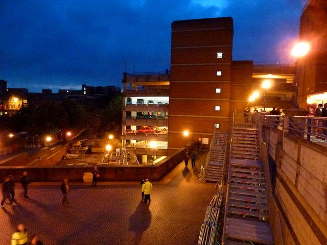 Birmingham NIA and car park
