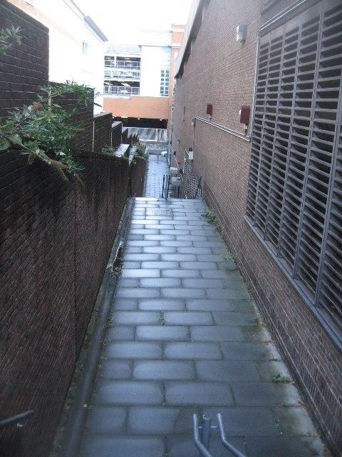 Hidden side passage