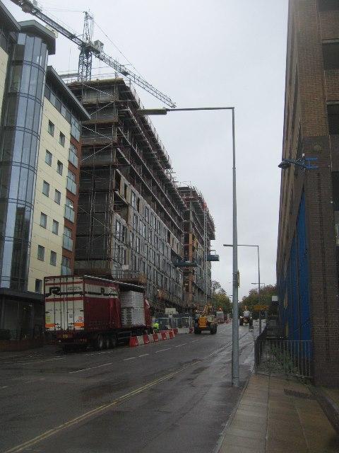 New development - West Park Road