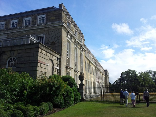 Petworth House from the north