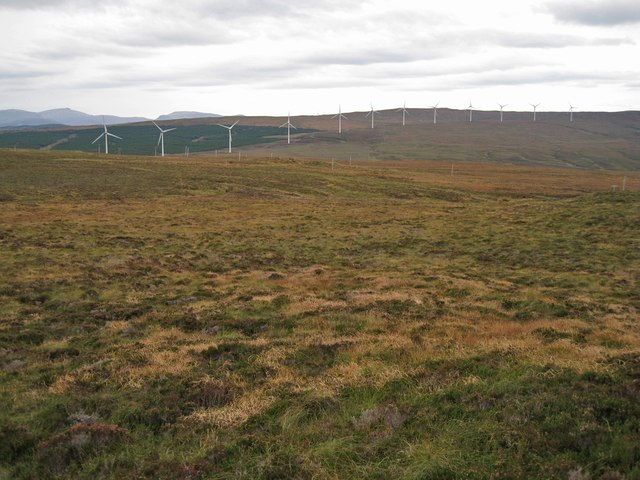 Undulating moorland